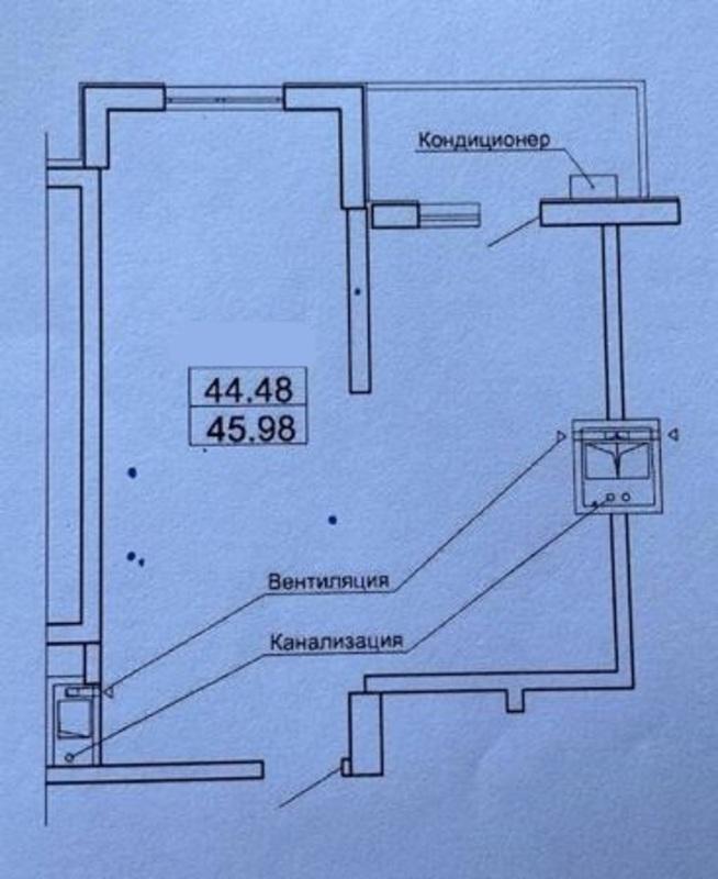 1-комнатная квартира в ЖК Акрополь 2