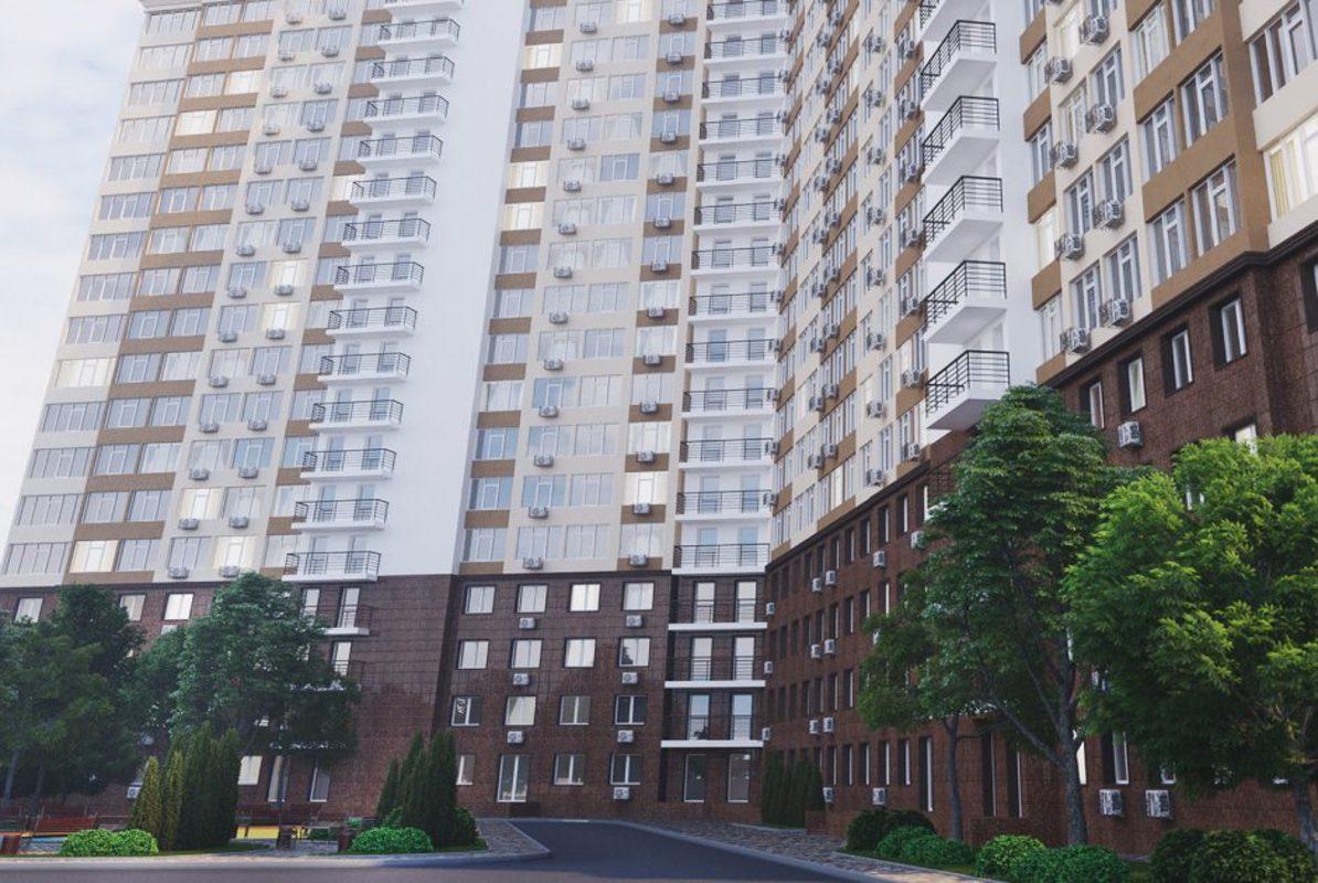 1 комнатная квартира на Таирова в ЖК 53 Жемчужина