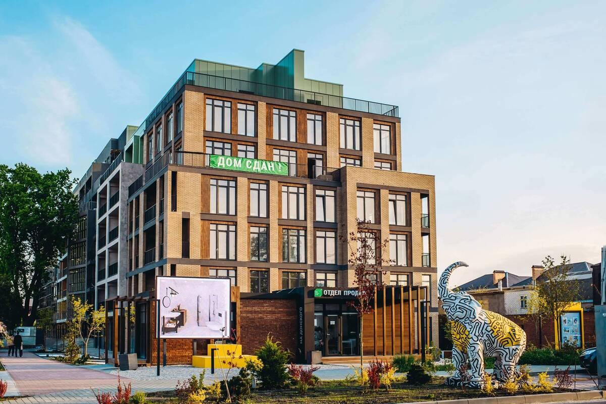2-комнатная квартира в ЖК Пространство на Донского