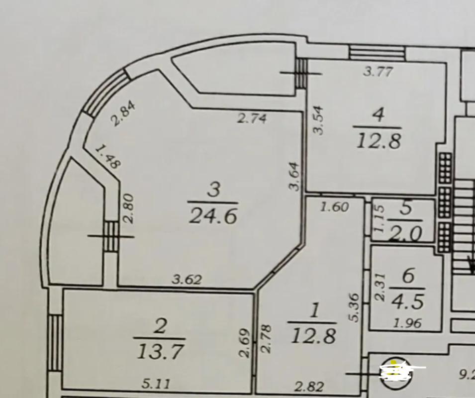 2-комнатная квартира на Академика Королёва