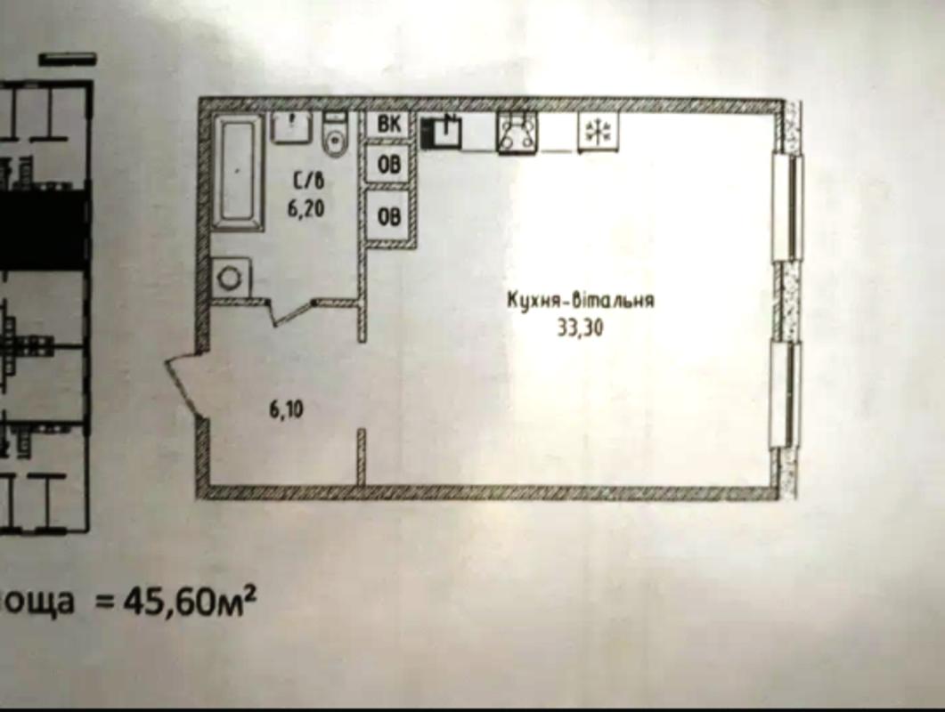 1 комнатная квартира в ЖК Sea View, Аркадия