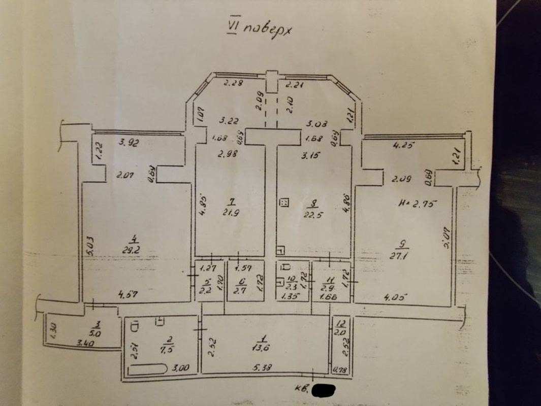 3-комнатная квартира в ЖК Титаник