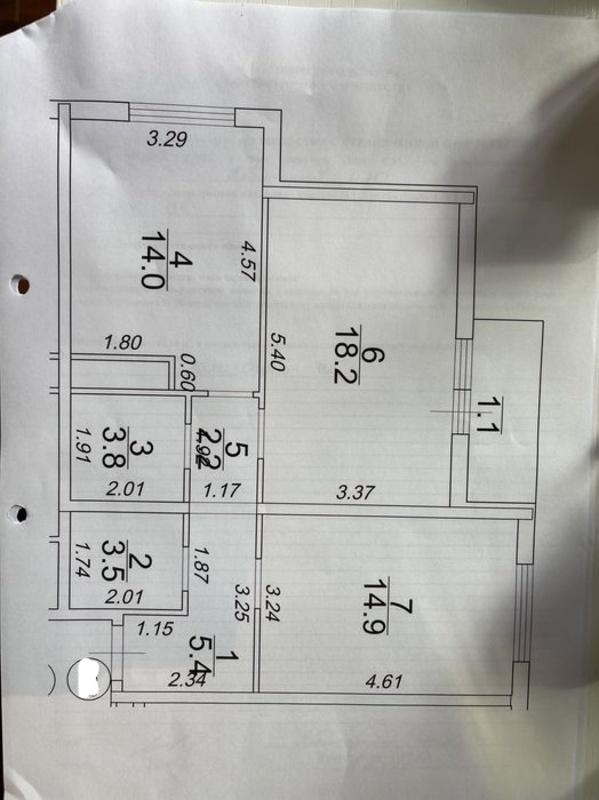 2-комнатная квартира в ЖК 51 жемчужина