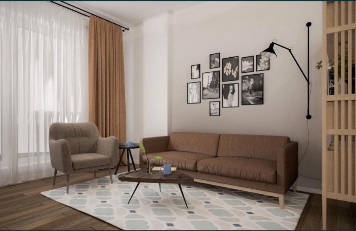 1 комнатная квартира в ЖК Пространство на Гераниевой