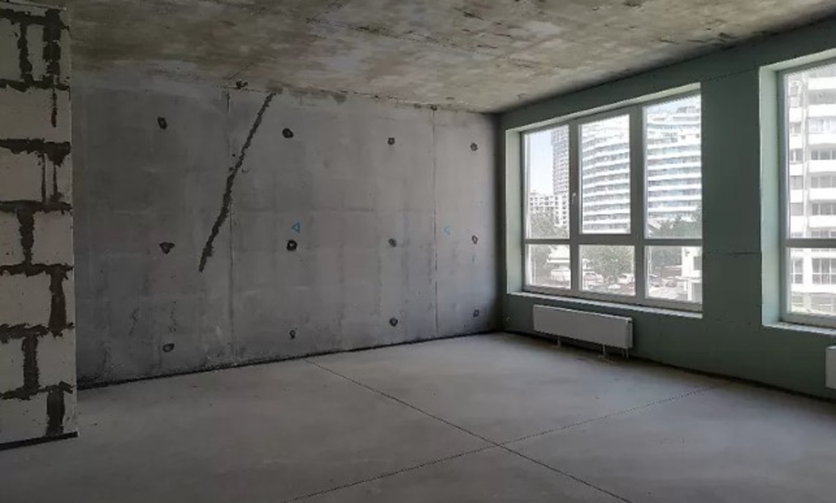 2 комнатная квартира с видом моря в ЖК Новый Берег