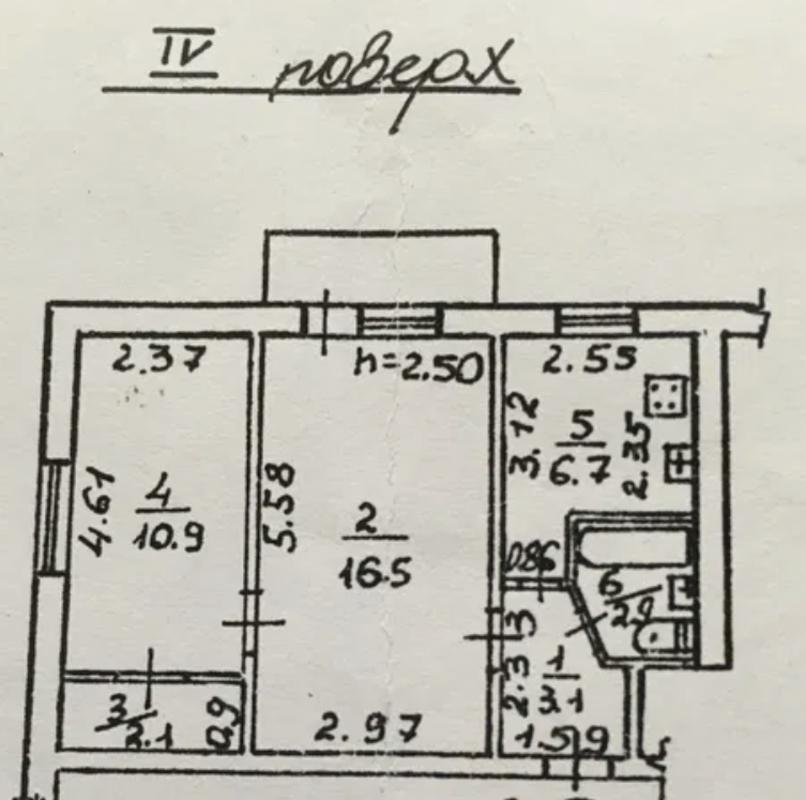 2-комнатная квартира на площади 10 апреля