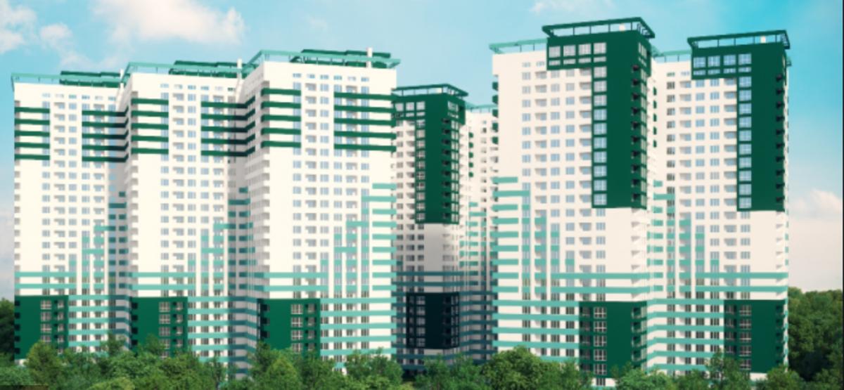 Трехкомнатная квартира в жилом комплексе Альтаир-3
