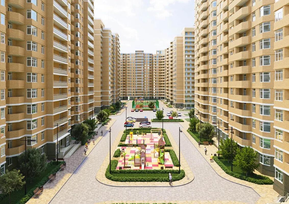 3 комнатная квартира в ЖК Реал Парк