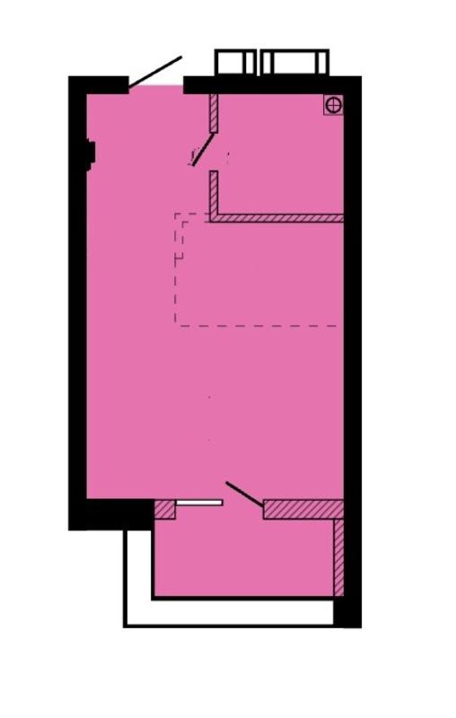 1 комнатная квартира в Пространстве на Литературной