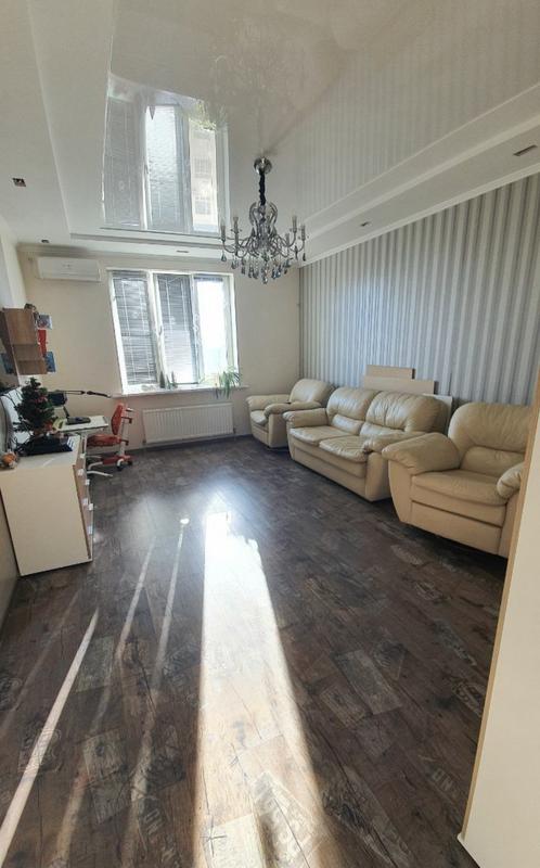 2-комнатная квартира с ремонтом в ЖК Капитан
