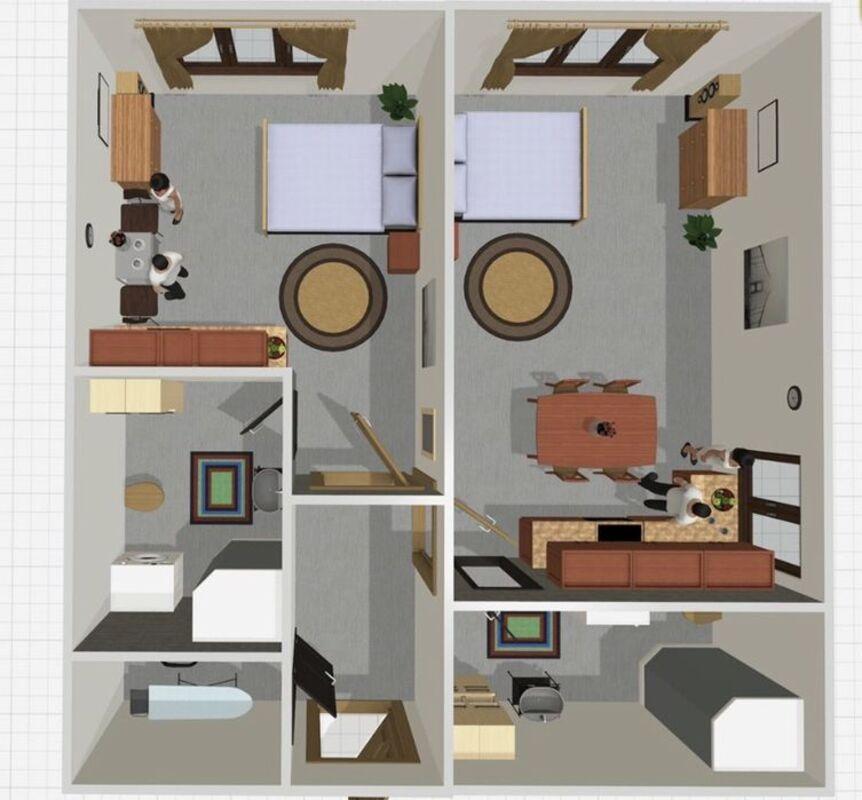 2 комнатная квартира в ЖК Литературный/8 фонтана