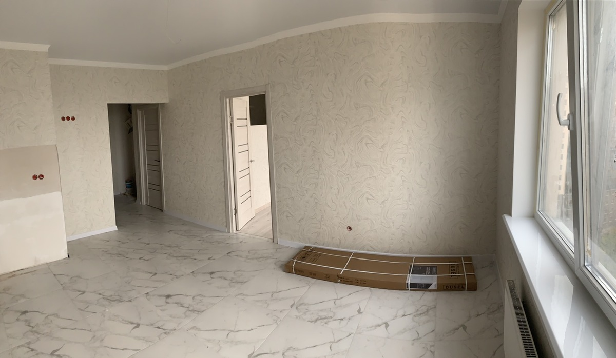 2 комнатная квартира с ремонтом в 42 Жемчужине