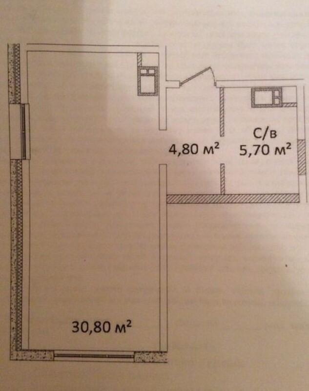 1-комнатная квартира в Апарт-комплекс «Литературный»