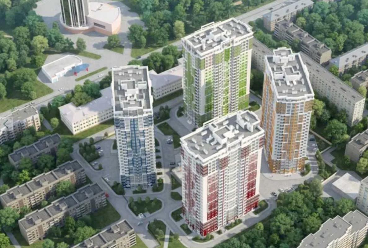 Двухкомнатная квартира с возможностью перепланировки в трехкомнатную в Жилом комплексе Четыре сезона