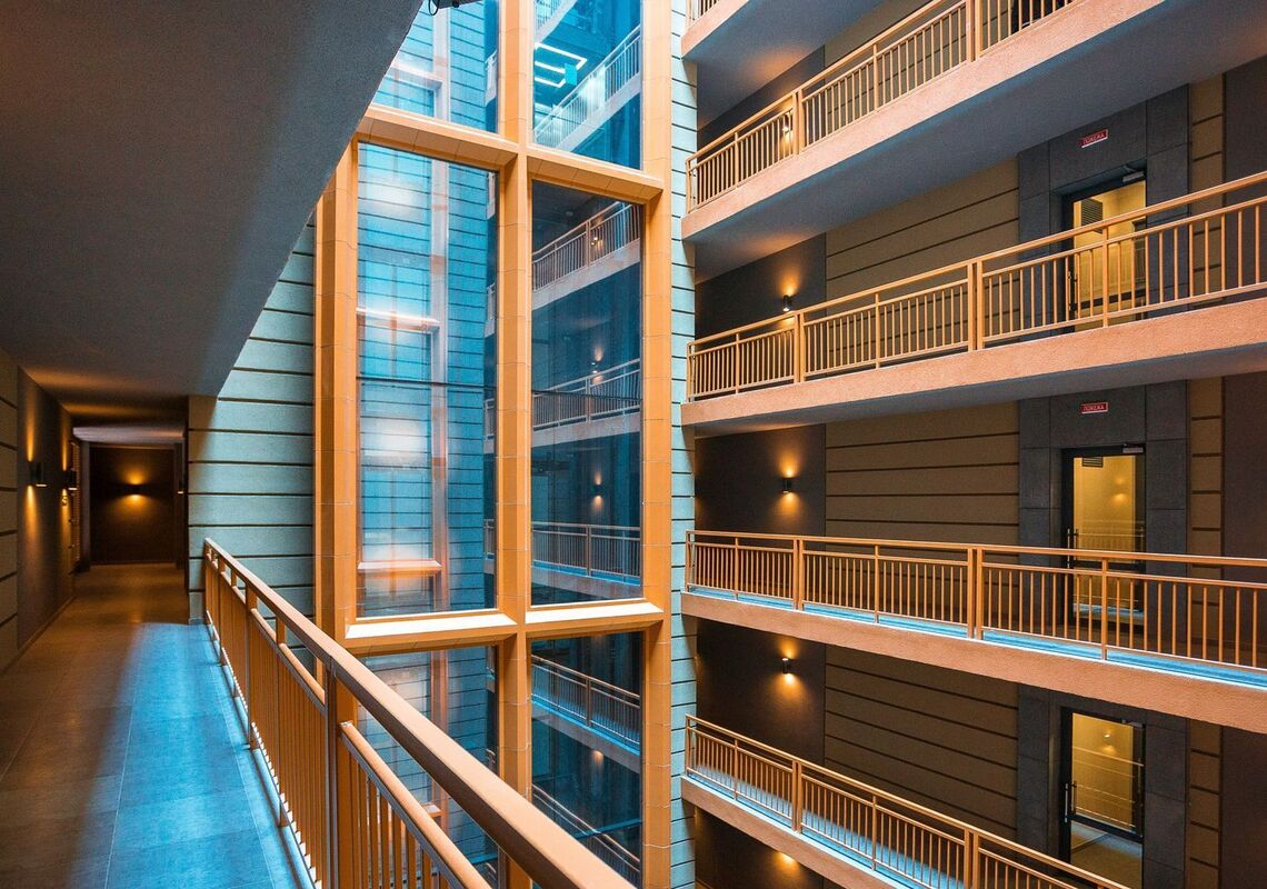 2х комнатная квартира в ЖК Башня Chkalov
