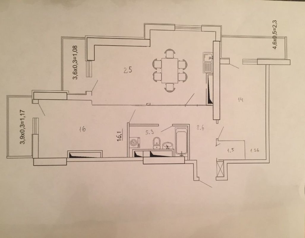 2-комнатная квартира в ЖК Лимнос