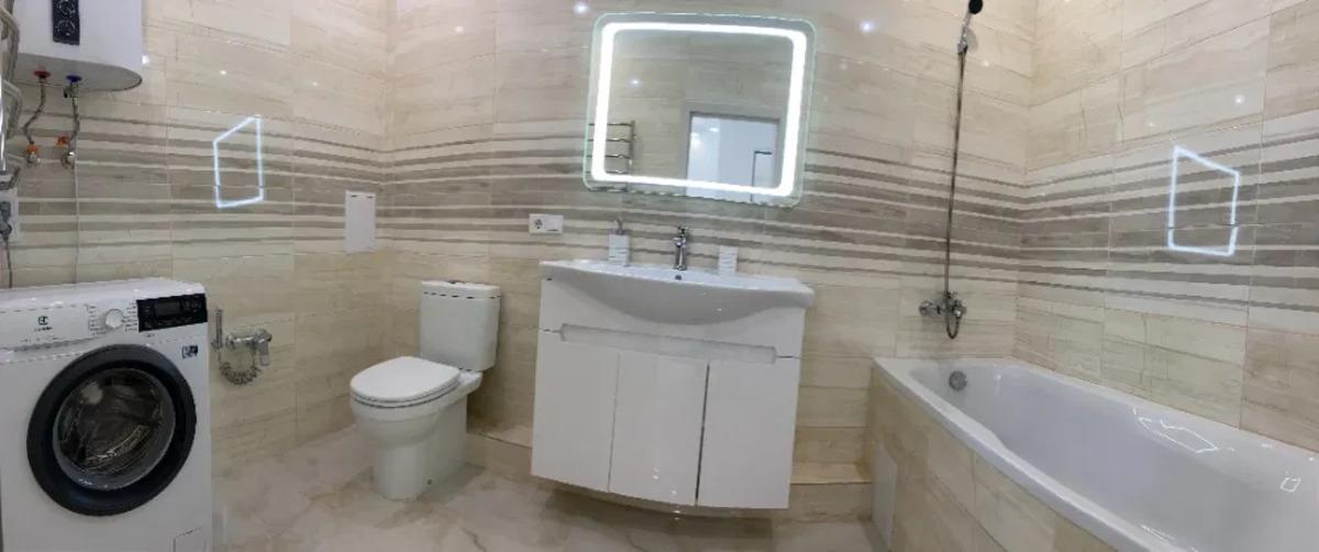 1 комнатная квартира с ремонтом в ЖК 4 сезона