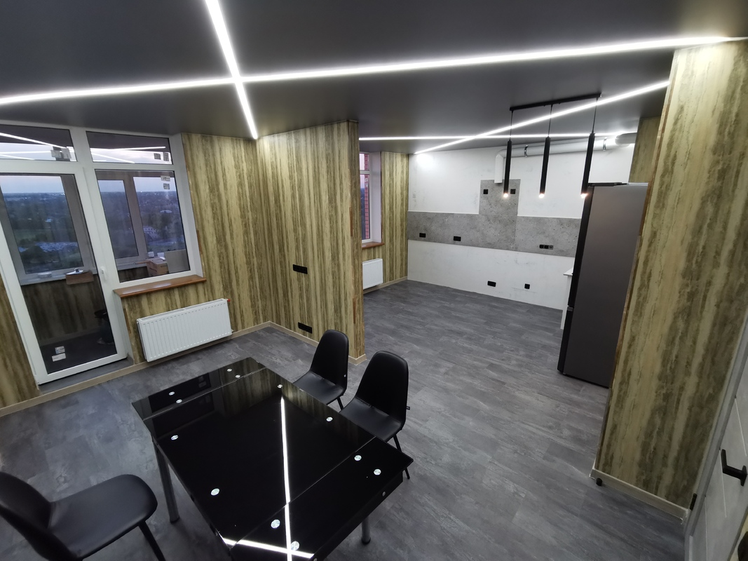 1-комнатная квартира с сауной в ЖК Реал Парк