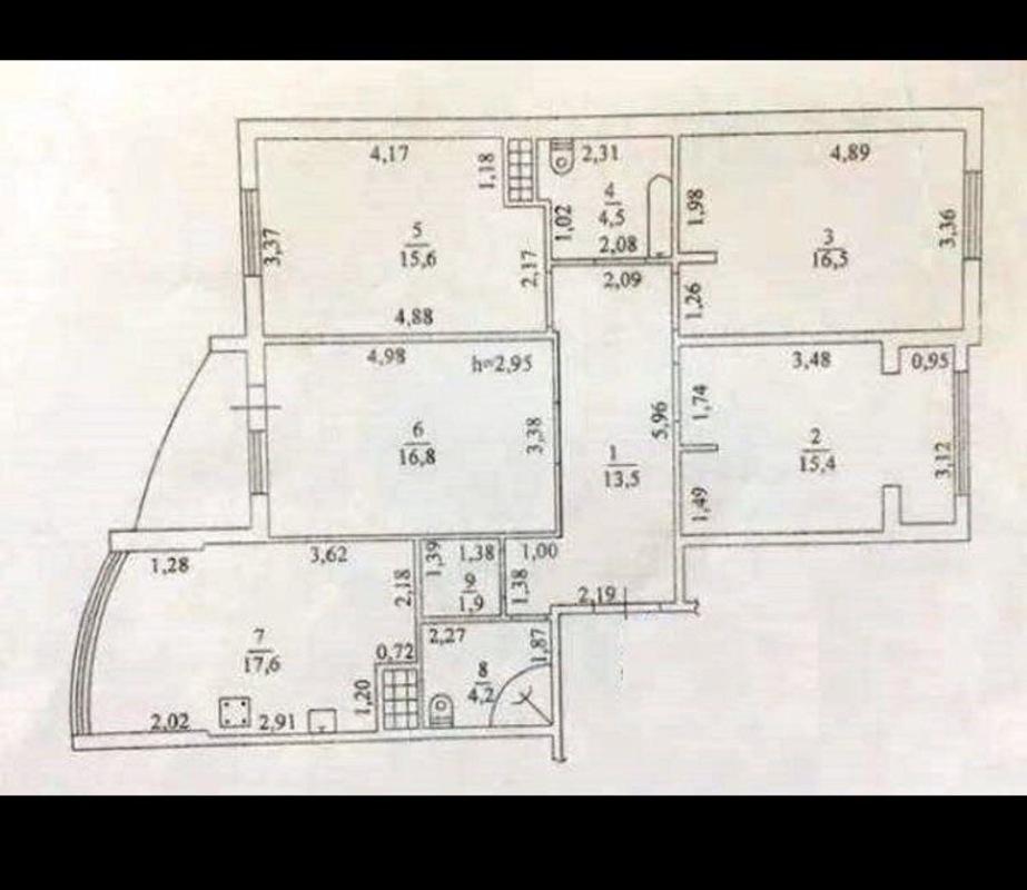 4 комнатная квартира в ЖК Звездный Городок/ Армейская
