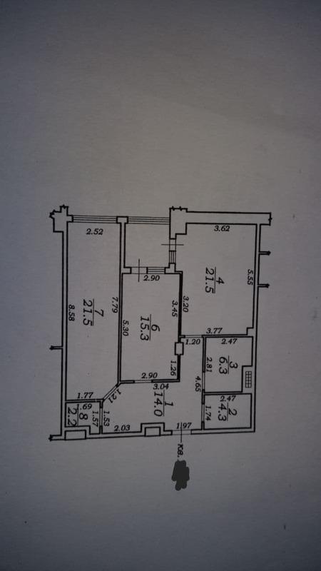 2-комнатная квартира на улице Макаренко