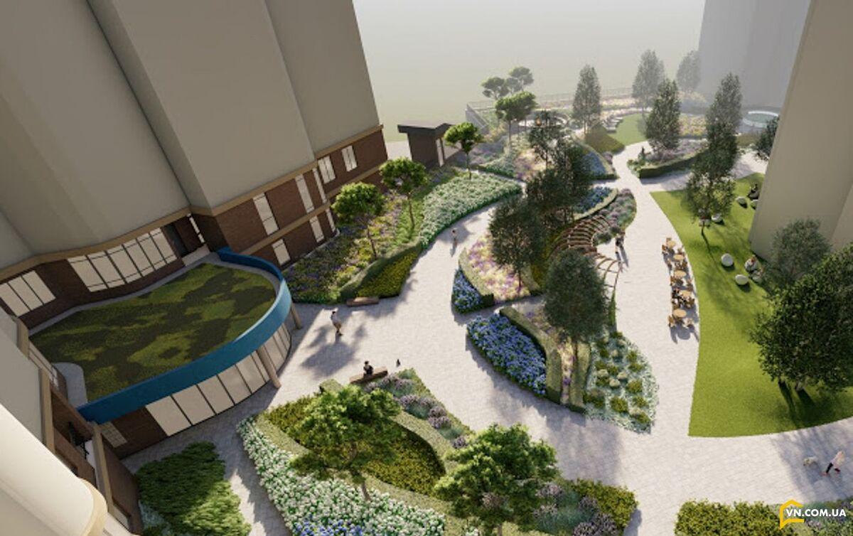 1 комнатная квартира на 16 станции Большого фонтана в экологичном, тихом районе с шаговой доступностью к морю