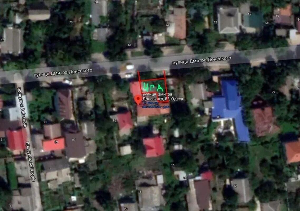 Дом по улице Дмиитрия Донского