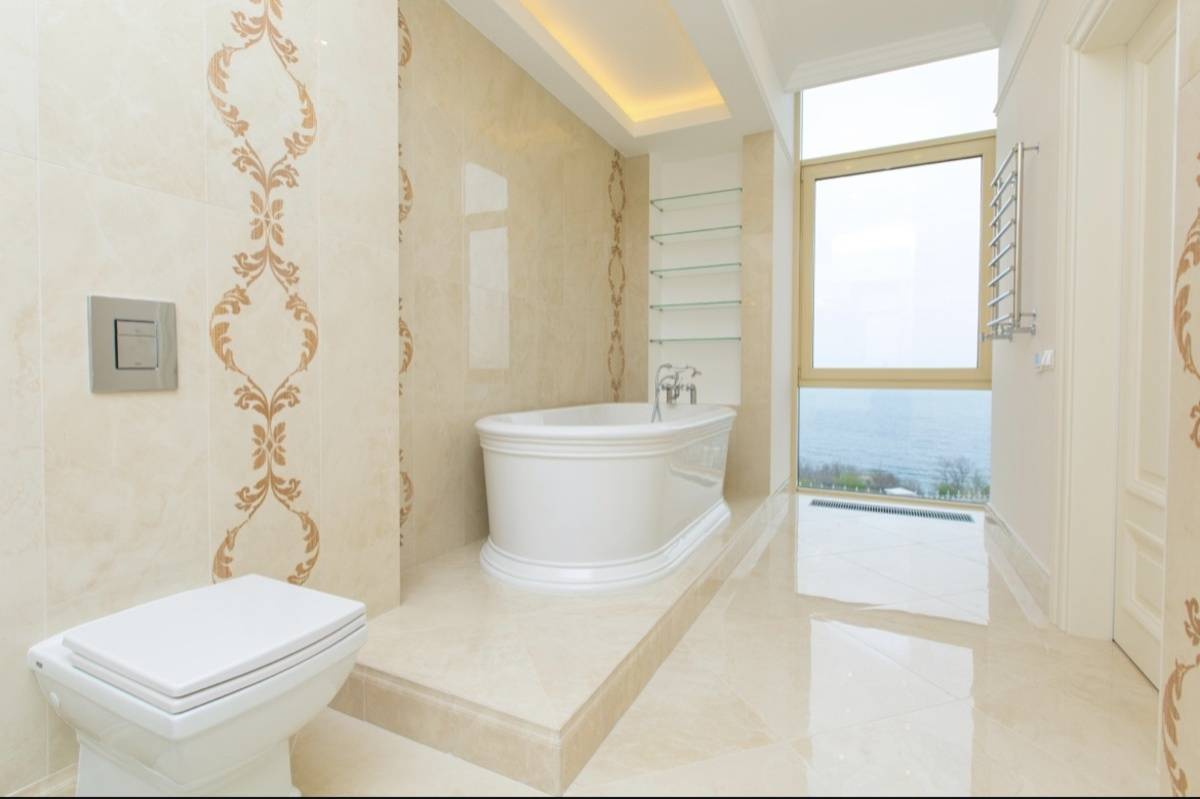 Дом в коттеджном городке Дубаи на Французском бульваре с панорамным видом моря