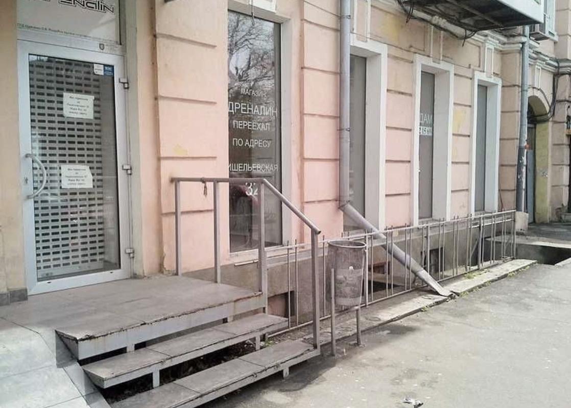 Фасадное помещение в центре