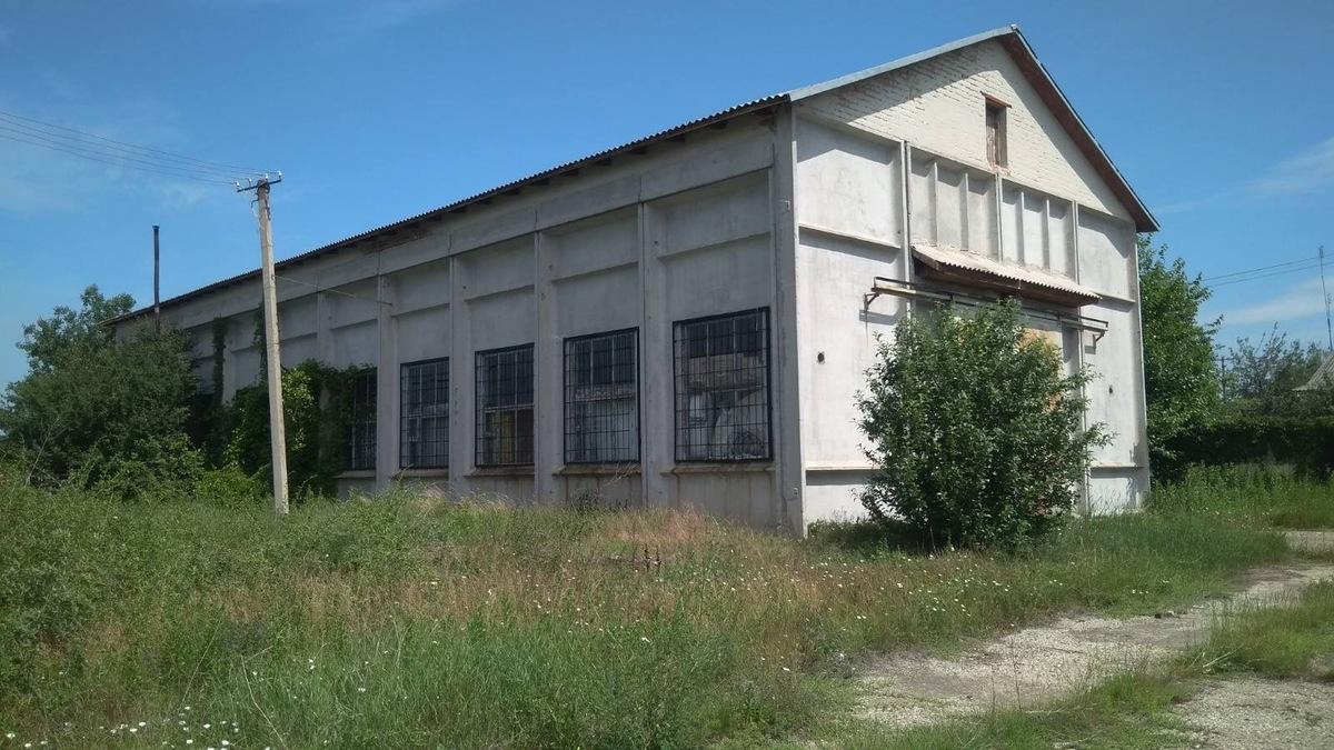 Производственно-складское помещение в Петродолинске.