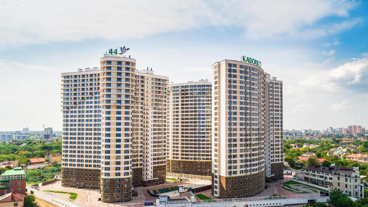 1 комнатная квартира в ЖК 44 Жемчужина/Каманина