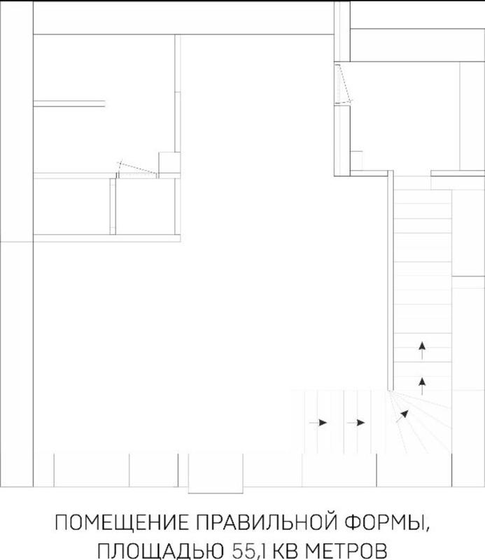 Фасадное помещение на проспекте Шевченко