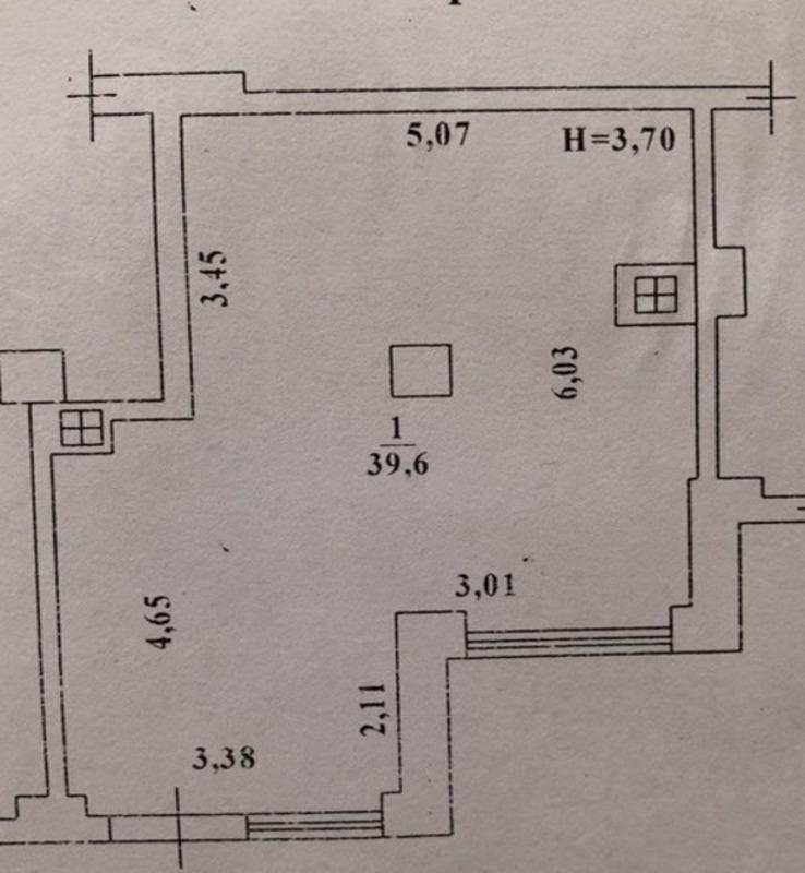 Коммерческое помещение с ремонтом в ЖК Радужный