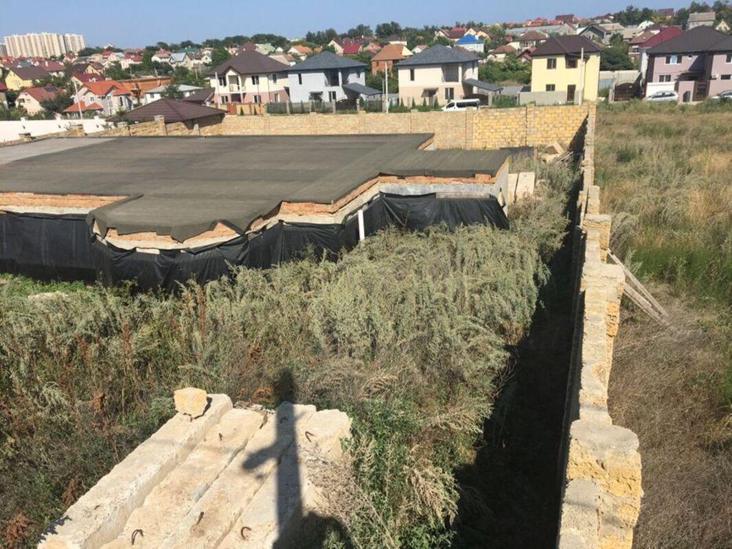 Участок 10сот в Черноморке с фундаментом